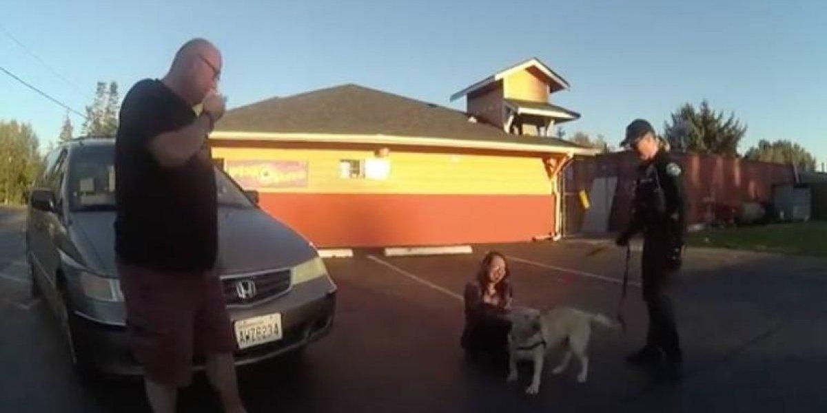 """""""Tanto amor"""": la maravillosa reacción de un perro tras reencontrarse con sus dueños luego de haber sido robado"""