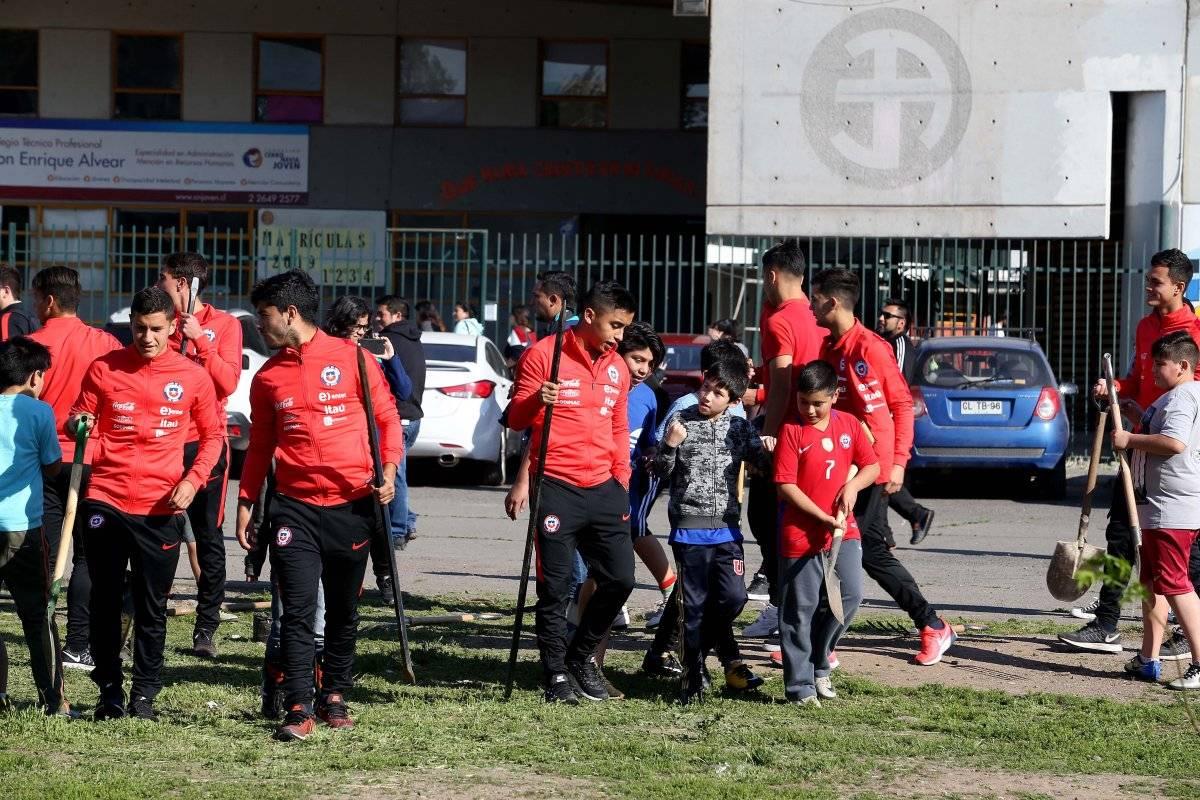 La Sub 20 aprovechará la fecha FIFA / imagen: CARLOS PARRA / COMUNICACIONES ANFP