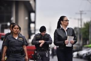 Roxana Baldetti acude a audiencia del caso Lago de Amatitlán