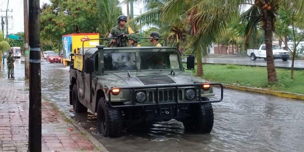 Sedena aplica Plan-DN-III-E en Quintana Roo por huracán 'Michael'