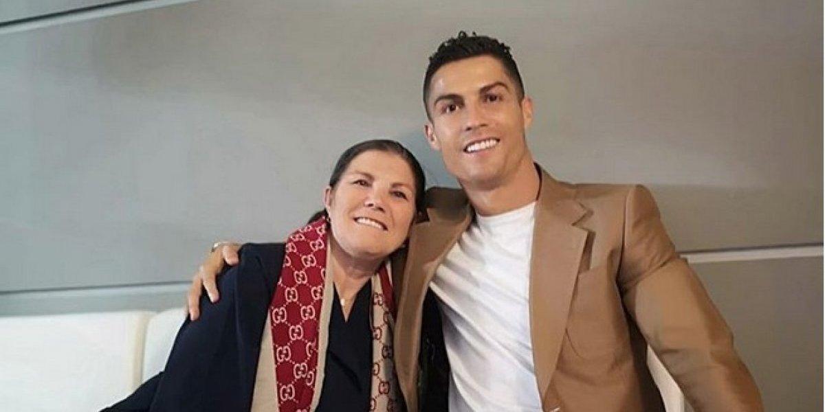 Madre de Cristiano Ronaldo inicia cadena de apoyo en favor de su hijo