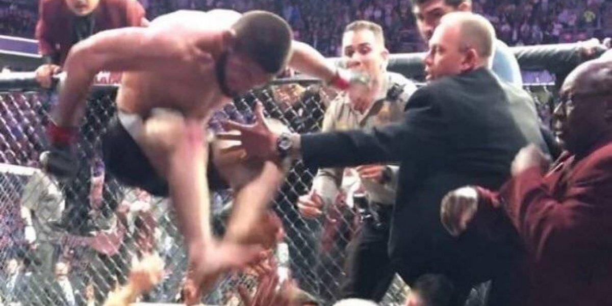 Así se burló la AAA de la trifulca tras la pelea entre McGregor y Khabib