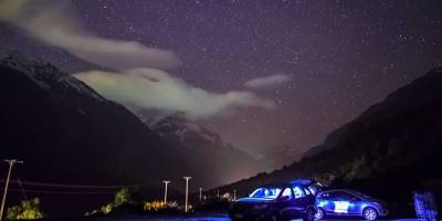 """Así se cazan ovnis en Chile: """"profesionales"""" de la observación de objetos entregan sus consejos e invitan a excursión / Gentileza"""