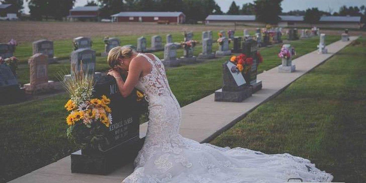 A história por trás da foto triste que se tornou viral nas redes sociais