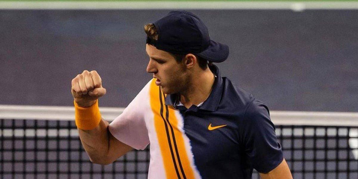 Nicolás Jarry arrancó con todo el 2019 al acceder a cuartos de final de dobles en el ATP de Doha