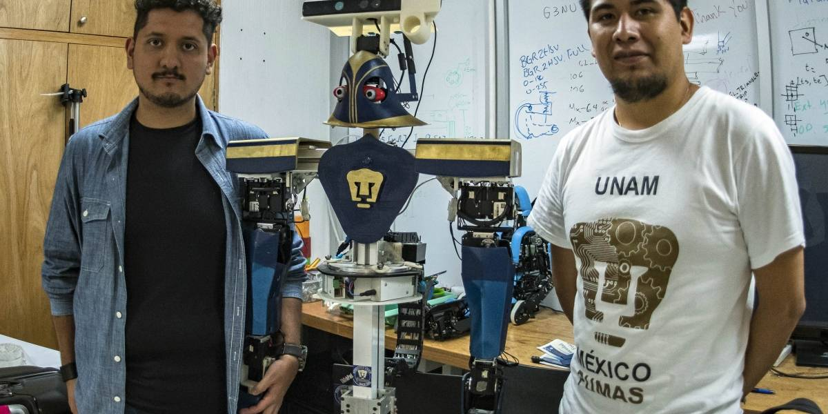 Justina: la robot de la UNAM que venció a todos en una competencia internacional
