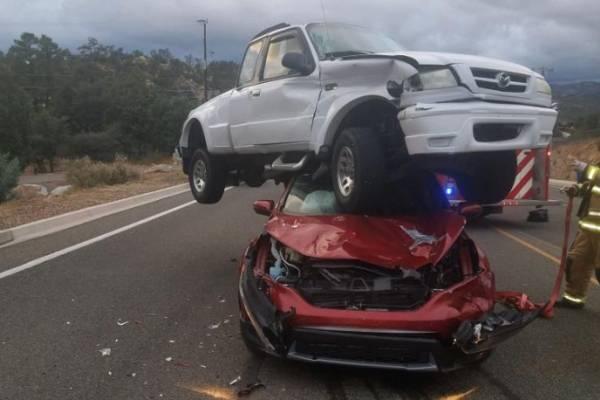 increíble accidente