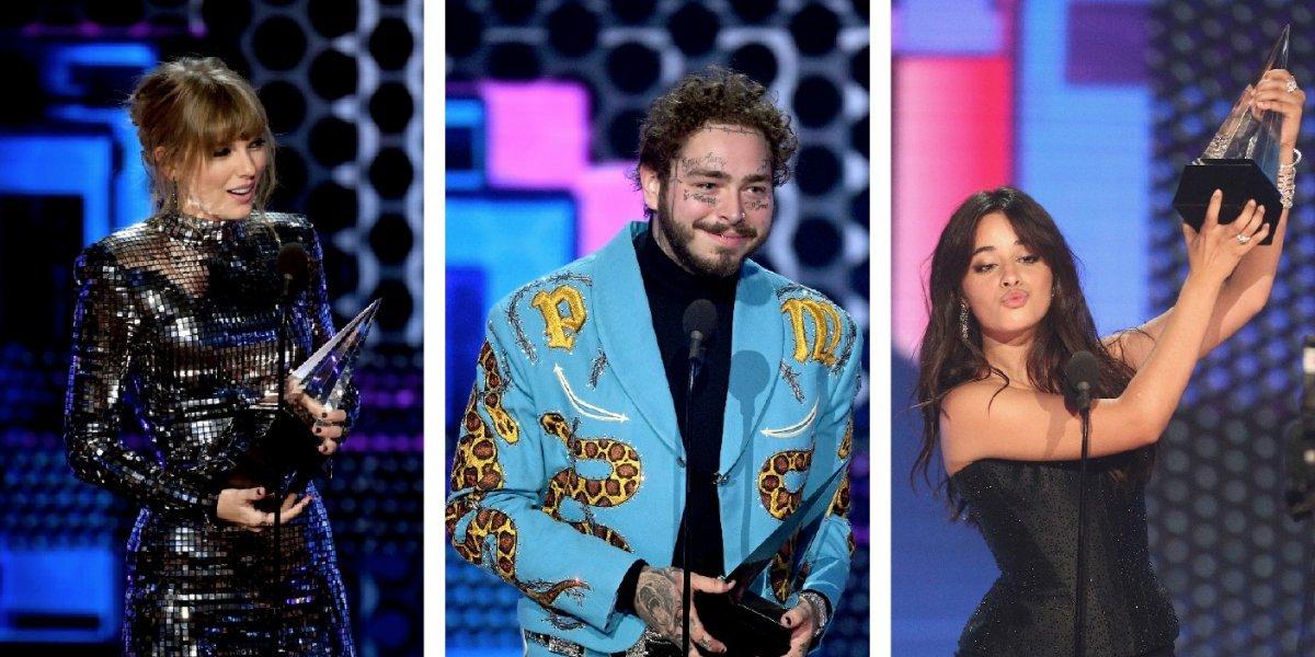 Todos los ganadores de los American Music Awards 2018