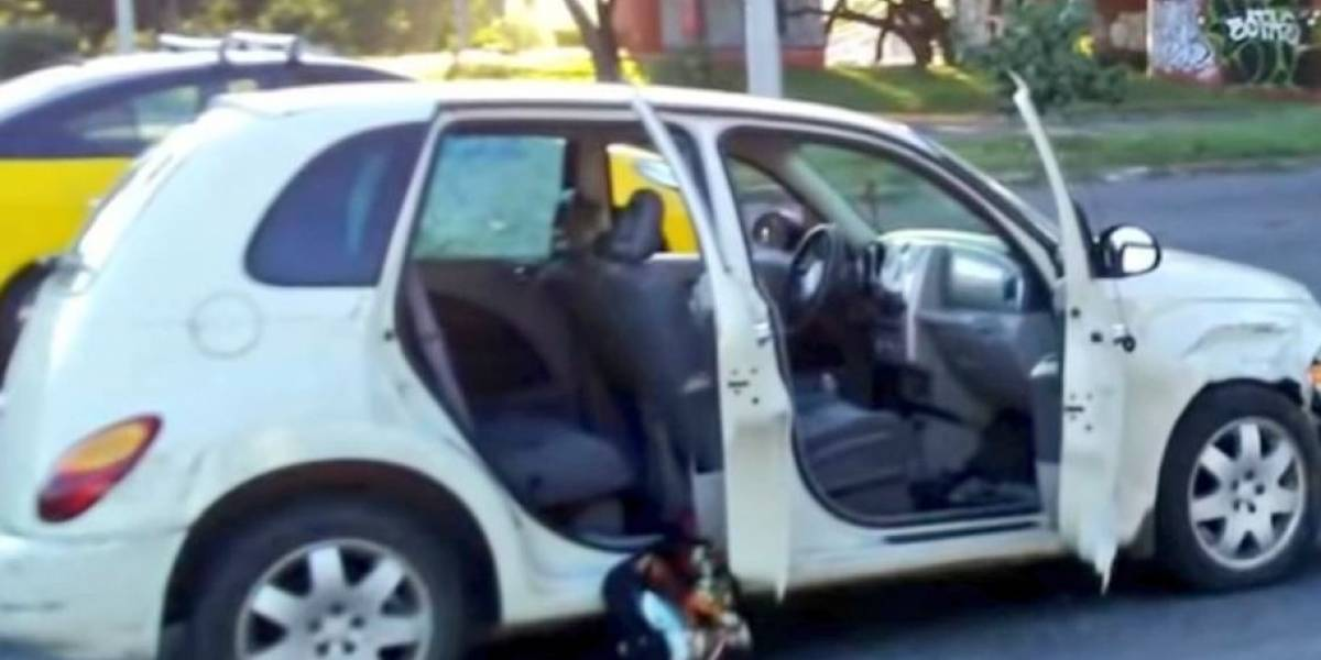 Hieren a dos niños tras altercado vial en Guadalajara