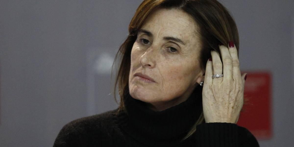 """El enojo de la ministra Marcela Cubillos tras el duro golpe al proyecto de ley """"Aula Segura"""" en el Senado"""