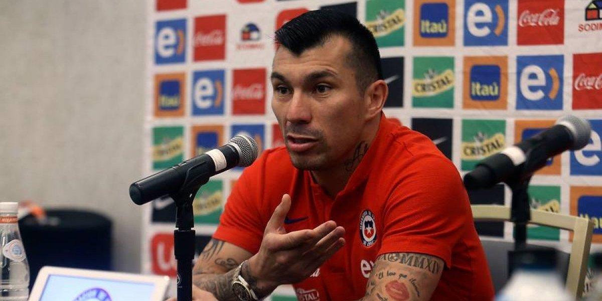 Vidal publicó apasionada arenga para amistoso con Perú — Con todo