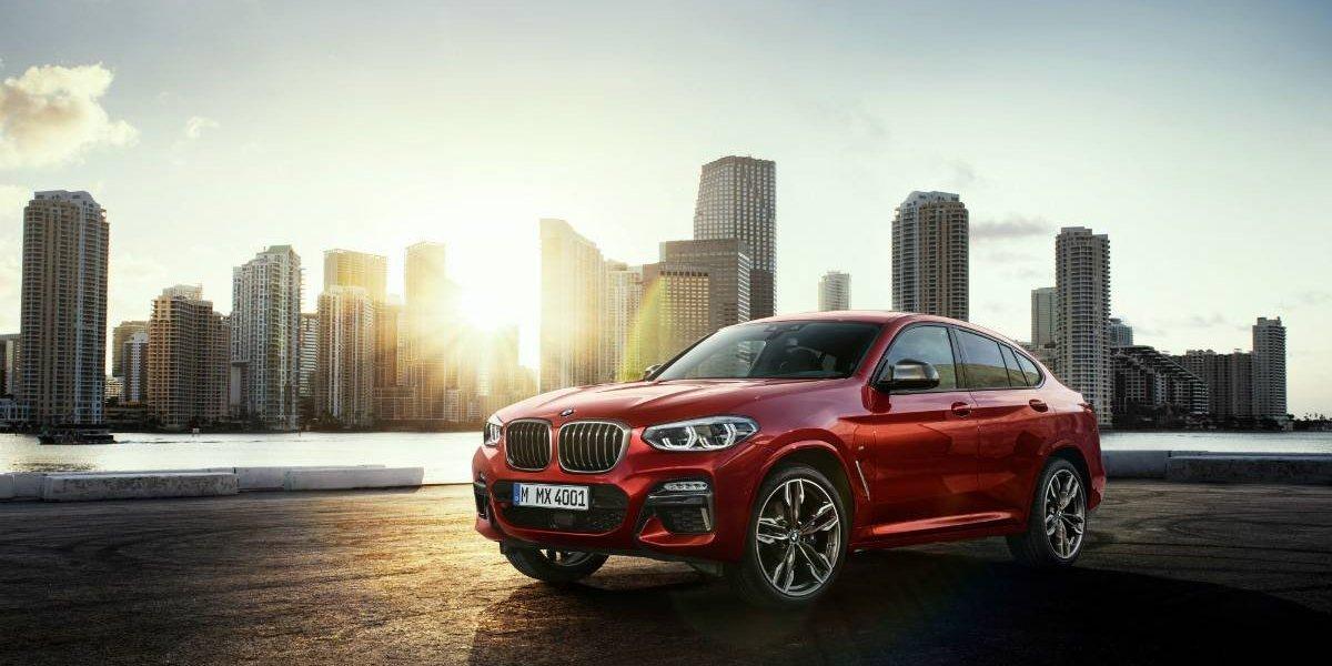 BMW lanza la segunda generación del dinámico X4