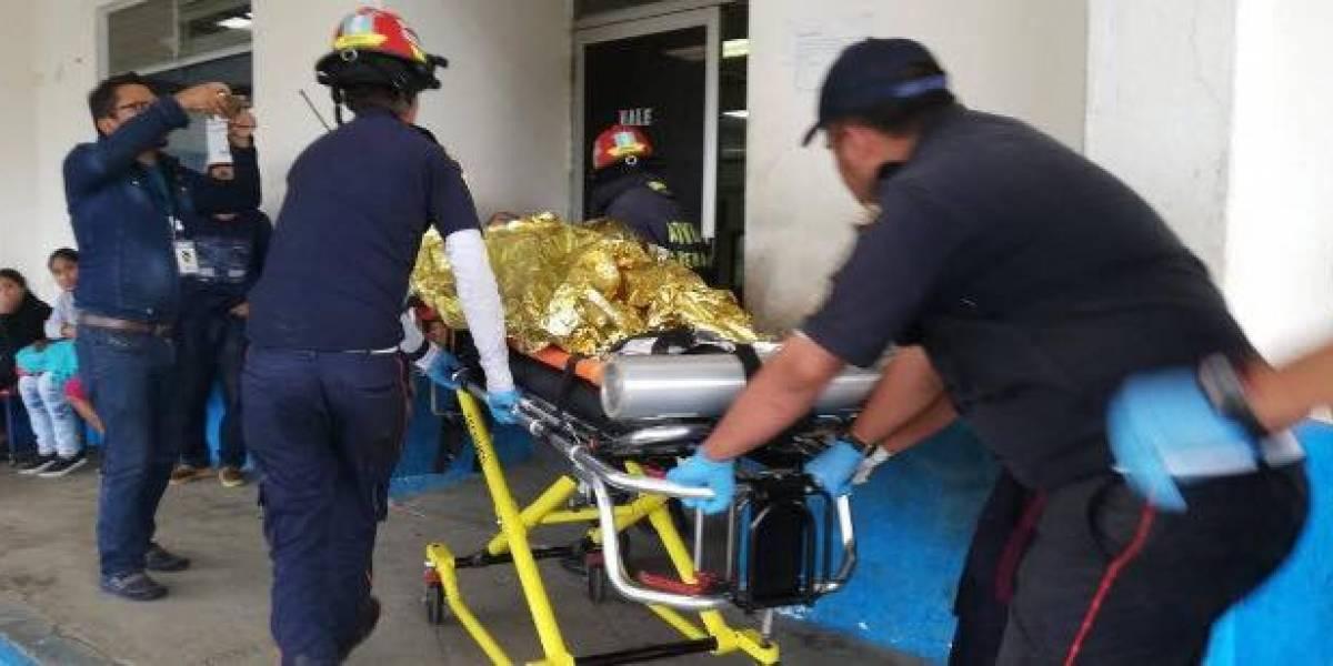Menor sufre quemaduras y amputación de una mano tras estallarle bomba