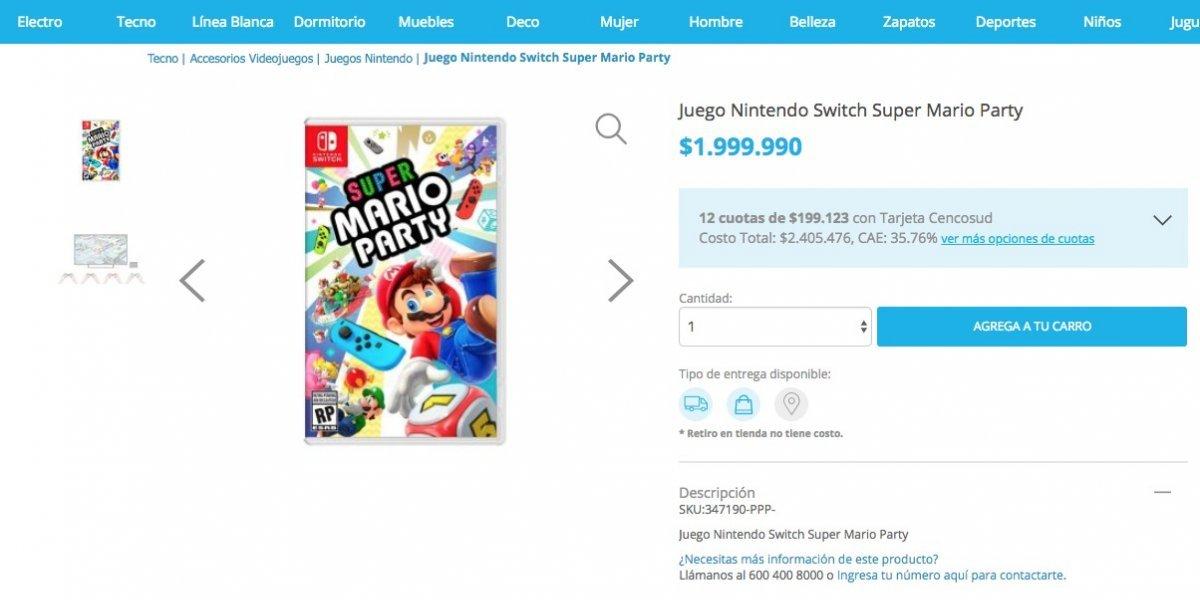 Super Mario Para La Switch A 2 Millones La Oferta Del