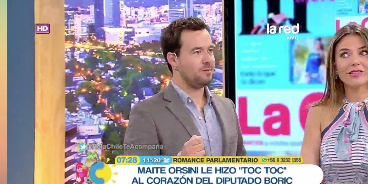 """""""Hola Chile"""": el desafortunado GC relacionado a la supuesta relación entre Maite Orsini y Gabriel Boric"""