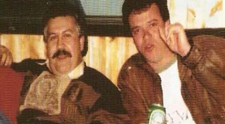 Popeye y Pablo Escobar Internet
