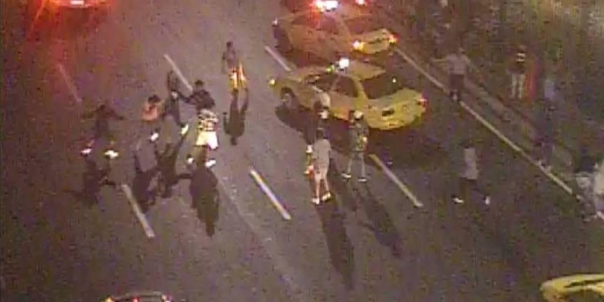 Guayaquil: Ocho personas detenidas por robo masivo en exteriores del Malecón 2000