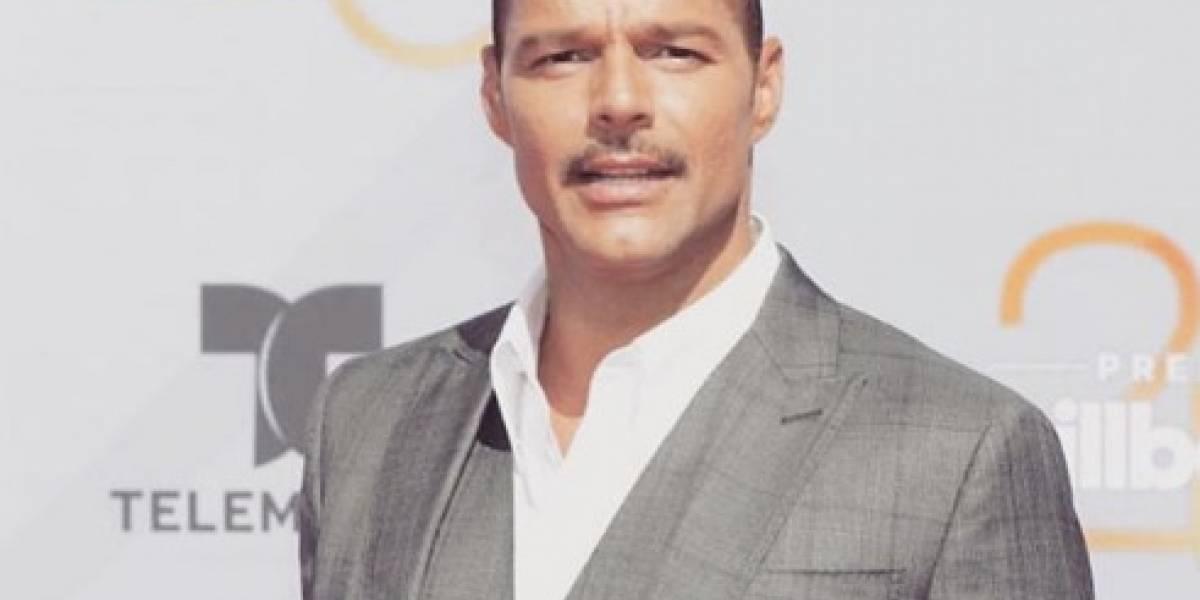 Ricky Martin vuelve a romper el Internet con sensual foto