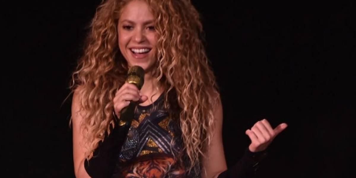 Shakira quedó sorprendida por video de hombre bailando como ella
