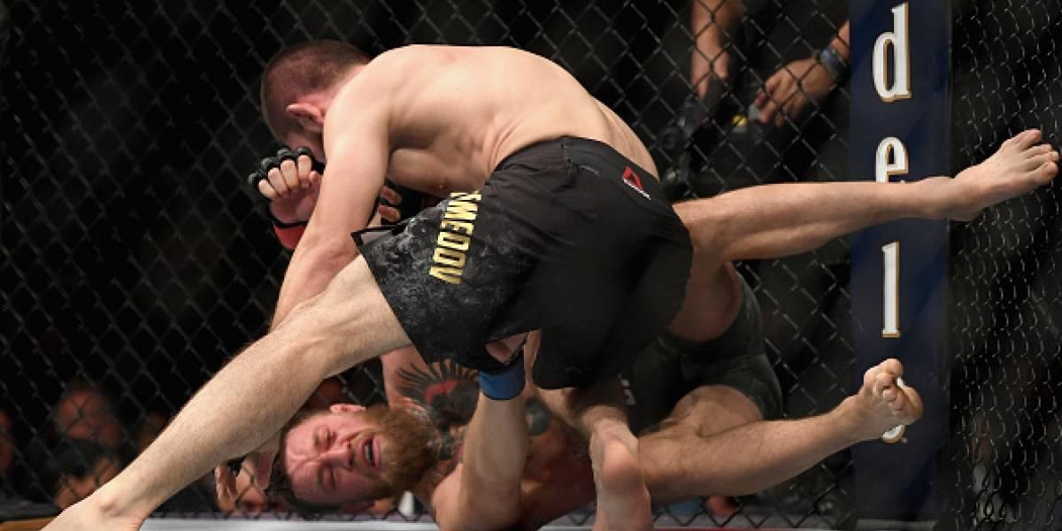 La primera foto de Conor McGregor tras ser derrotado por Khabib Nurmagomedov