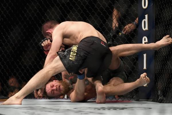 Conor McGregor perdió su pelea el sábado