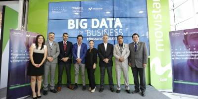 inauguración del curso Big Data for Business