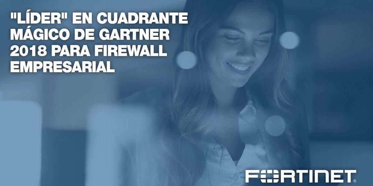 Reconocen Fortinet nuevamente como líder en el Cuadrante Mágico de Firewall Empresarial de Gartner