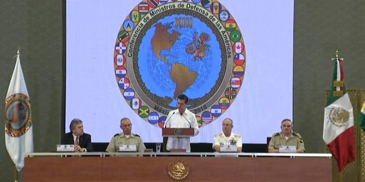 Llama Peña Nieto a combatir tráfico de armas en América