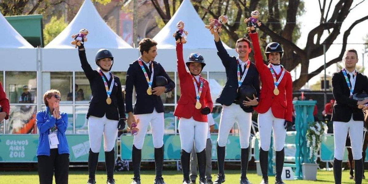 Nicole Meyer le da su segundo oro a México en los Juegos Olímpicos de la Juventud