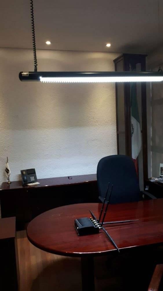 Equipo encontrado en las oficinas del gobierno de Morelos Foto: Cuartoscuro