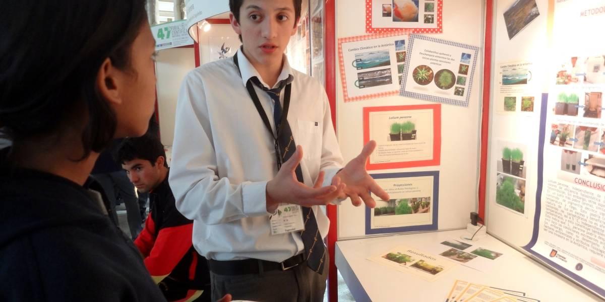Feria Científica Nacional Juvenil 2018 promueve proyectos colegiales de todo Chile