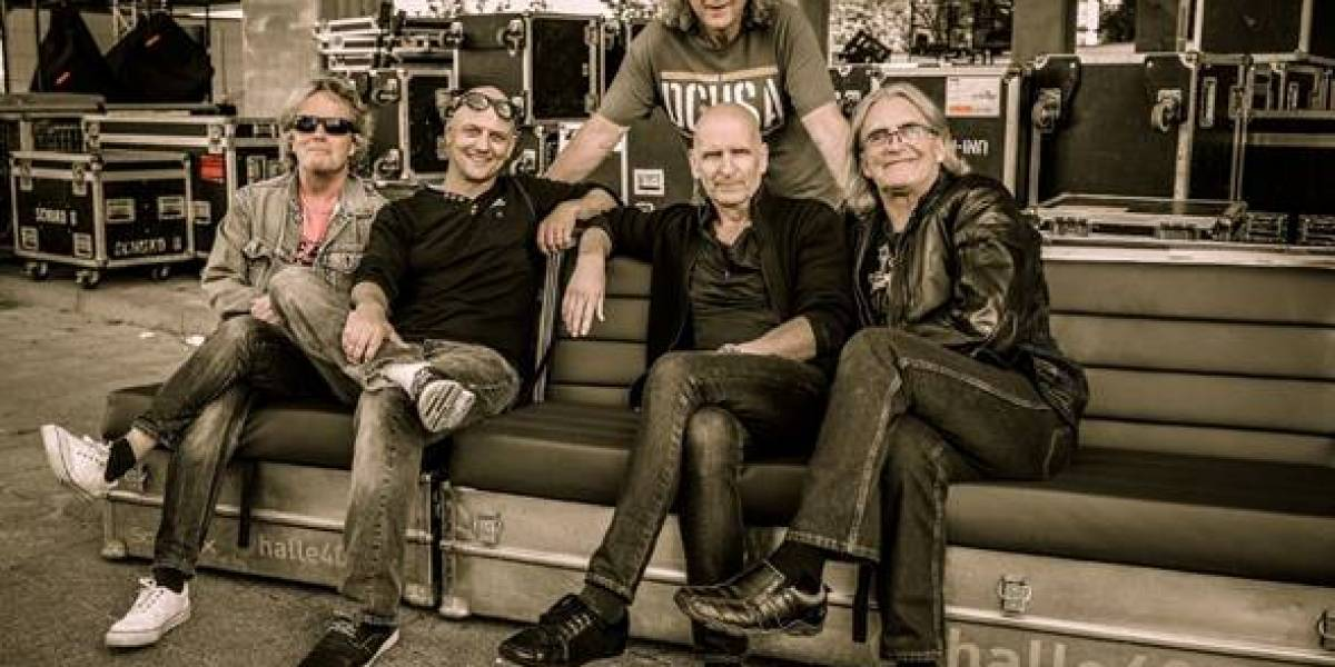 Se despide la banda de rock SAGA