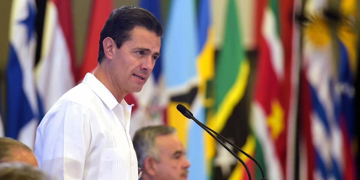 Cuando termine el sexenio volveré a ser mexiquense: Peña Nieto