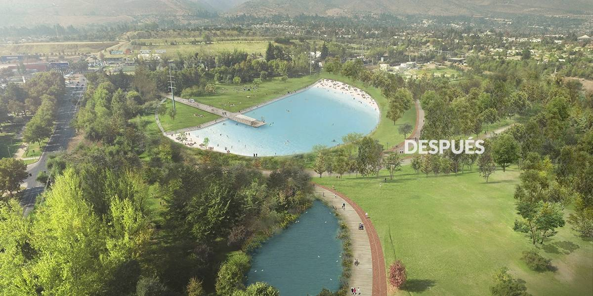 """Joaquín Lavín responde a los cuestionamientos por la laguna social: """"Vamos a cobrar lo mismo que las piscinas del Parque Metropolitano"""""""