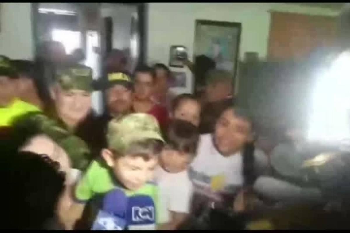 Liberan de secuestro al niño de 5 años que unió a Colombia