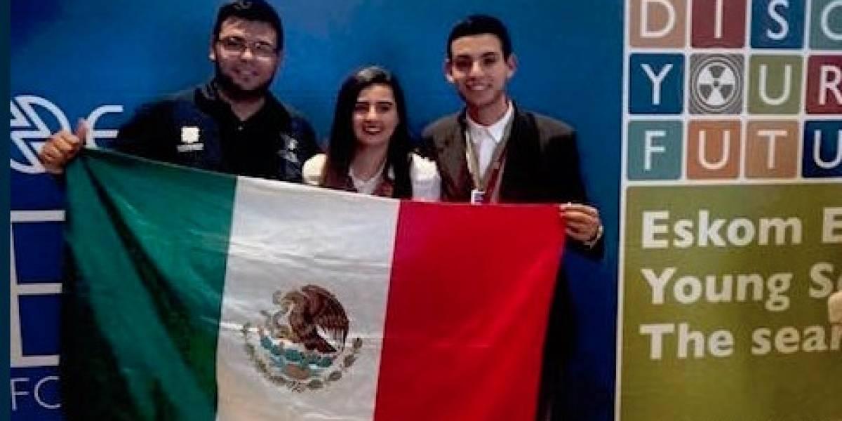 Mexicanos ganan medalla de oro en concurso de tecnología en Sudáfrica