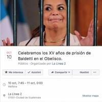 Memes condena Roxana Baldetti