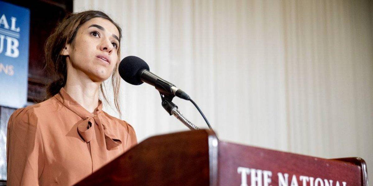 Ganadora de Nobel de la Paz pide combatir genocidios