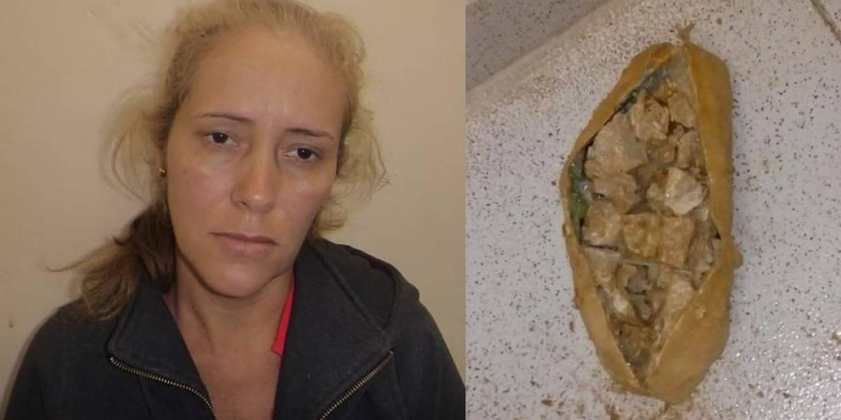 Capturan a mujer que transportaba coca en varias 'narcoyucas'