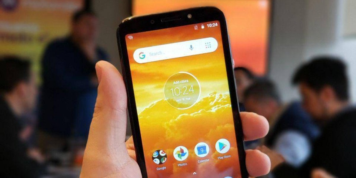 Motorola presenta en Chile el Moto E5 Play, con Android Go