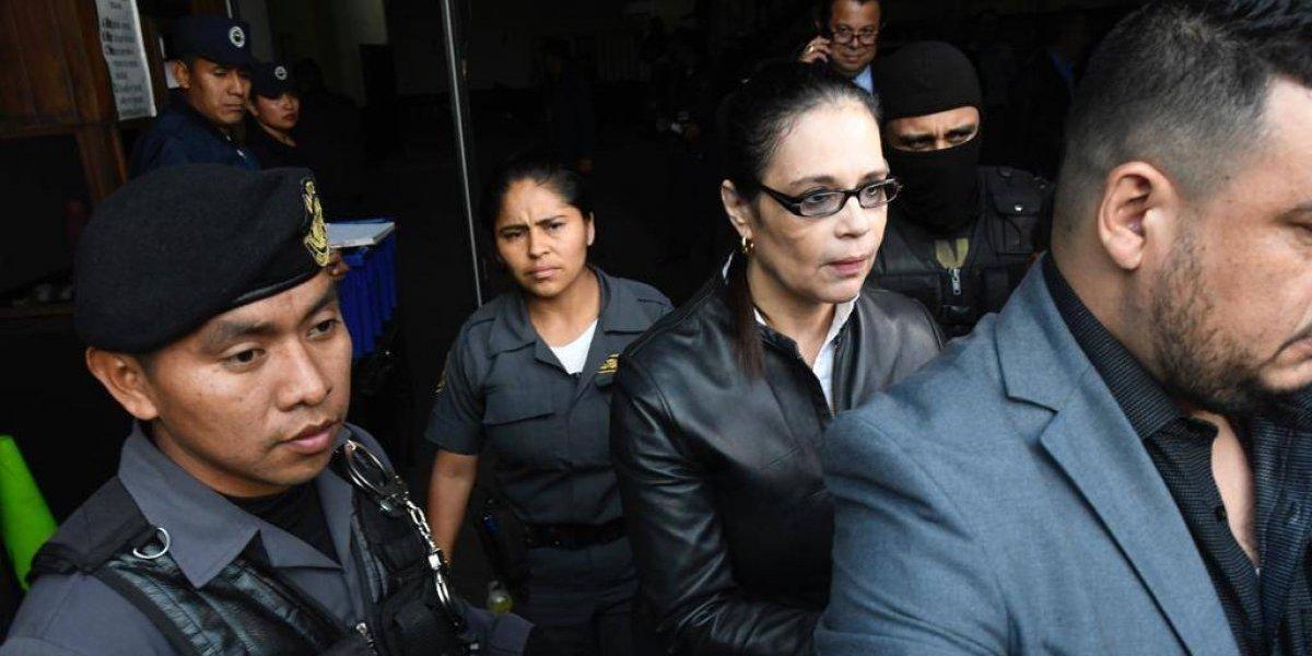 Así tituló la prensa internacional la sentencia contra Roxana Baldetti