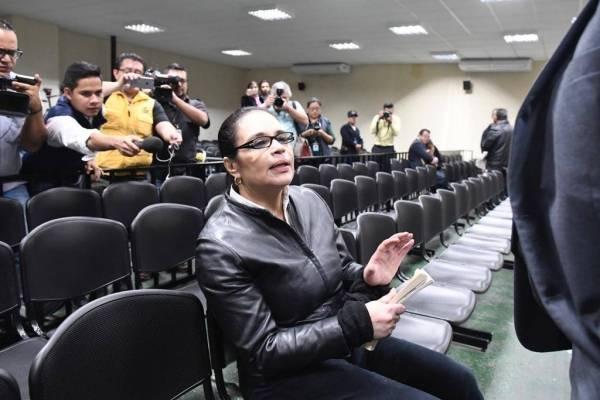 Roxana Baldetti en sentencia del caso Lago de Amatitlán