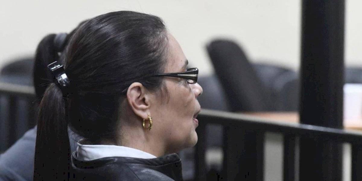 Baldetti y Méndez accionan para que jueza siga conociendo caso La Línea
