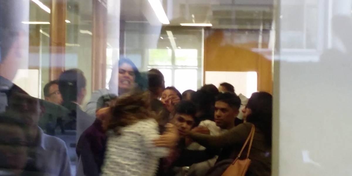 Audiencia de Carlos Salcedo termina en pleito