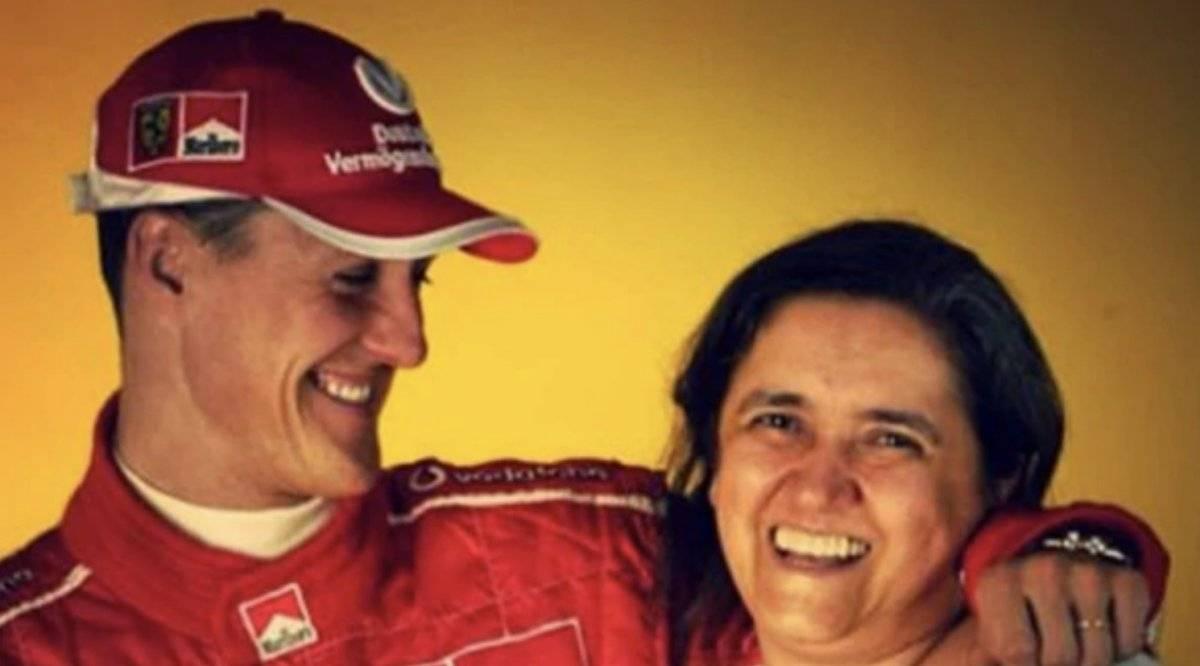 Michael Schumacher y Rosella Infobae