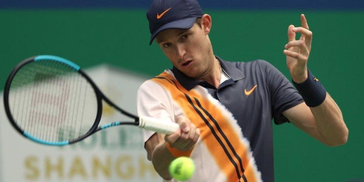 Nicolás Jarry da la sorpresa en Shanghái