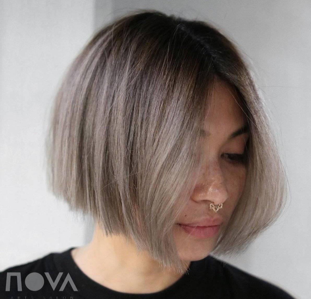 efectos de color en cabello corto