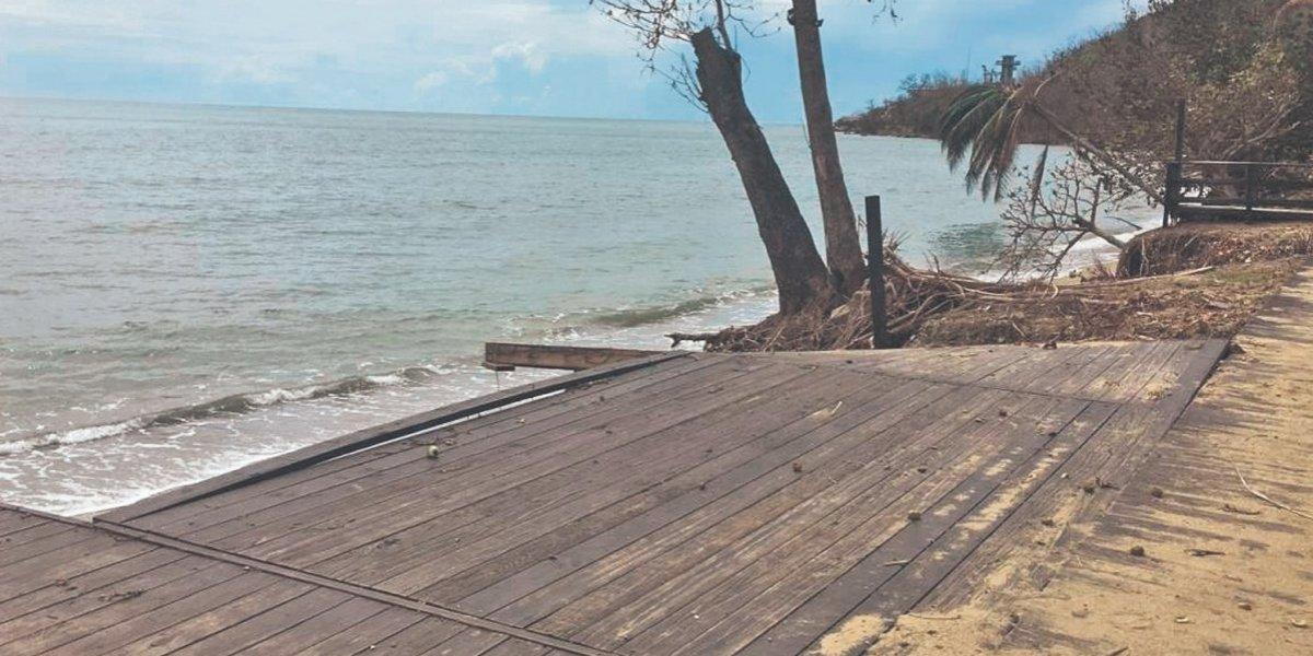 Cambios para mitigar erosión costera