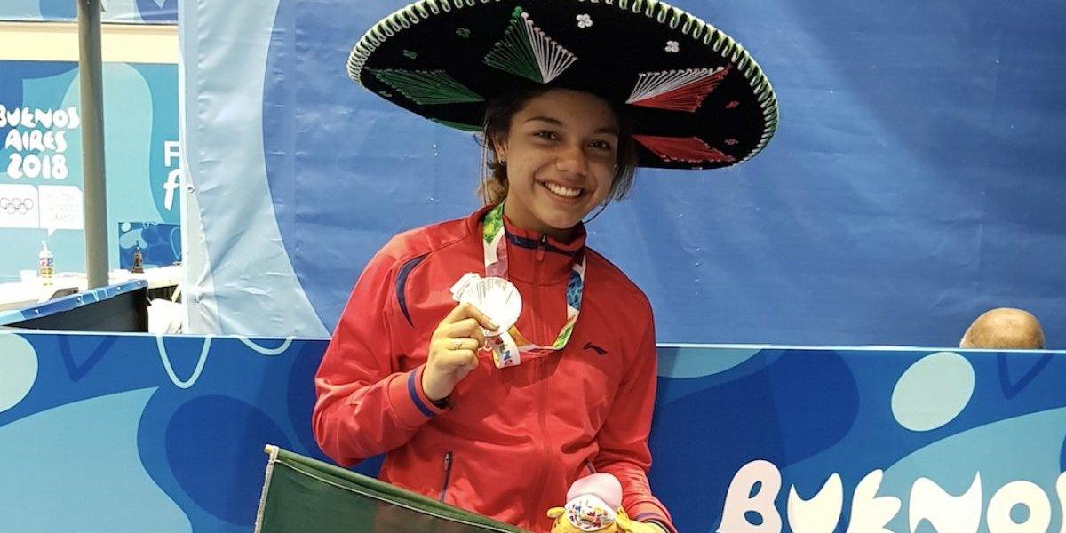 Natalia Botello conquista la primera Plata para México en Buenos Aires