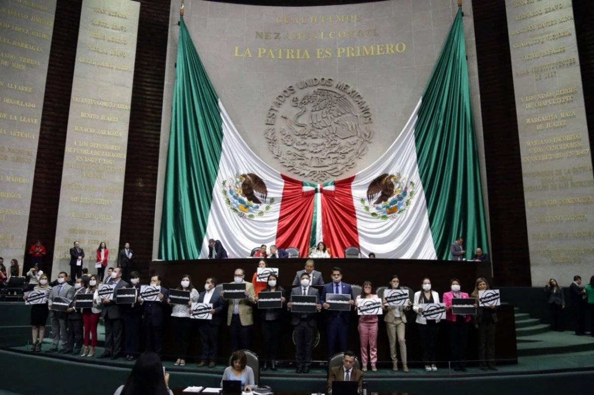 Los asambleístas se manifestaron en contra de censurarlos. Foto: Cortesía.